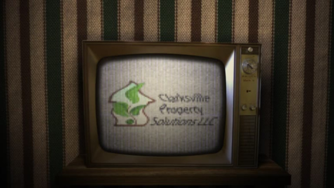 Old Broken Tv Logo Animation