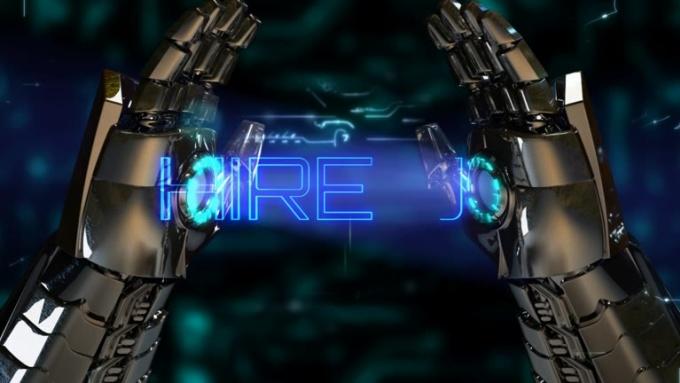 Robot Hand HIRE US