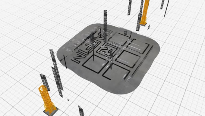 Construction Logo Buildup