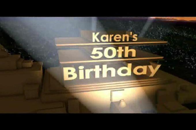 Karen Birthday Intro