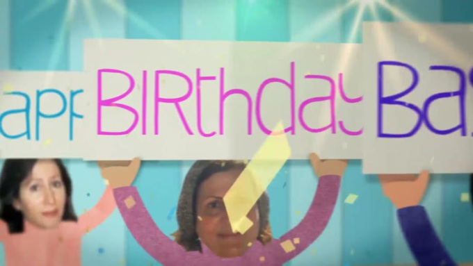 Birthday Wish Video for Bassam in 1080p Full HD High Quality