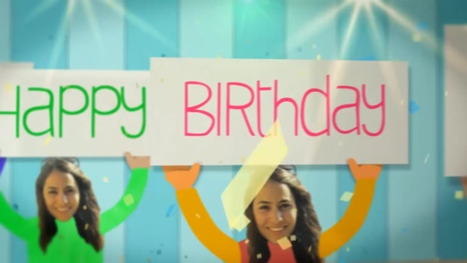 Birthday Wish Video to Yasmin in 720p HD High Quality