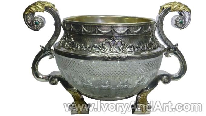 Silver Russian bowl_1