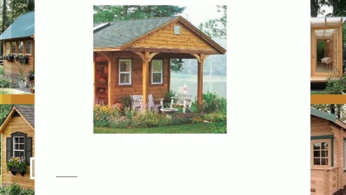 Want To Build Sheds Like These
