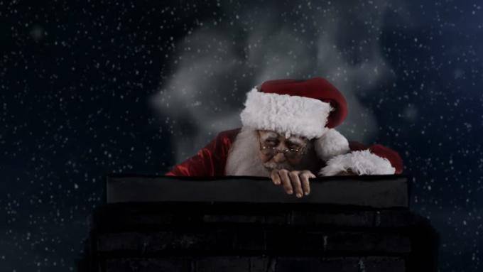 Agneskcc Santa Drunk Commercial