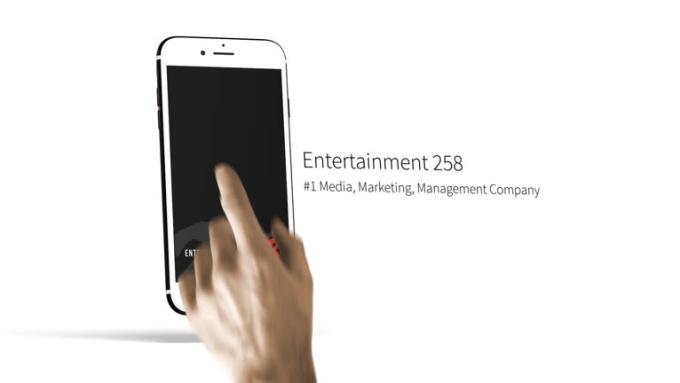 iPhone Animation Full HD 1080p