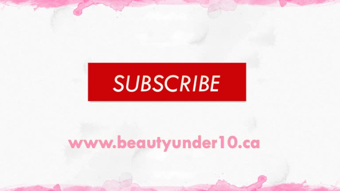 Beauty under 10_outro