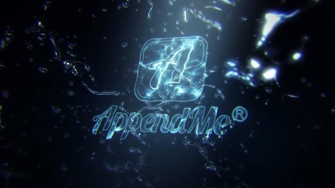 AppendMe Water Splash Reveal