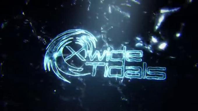 XWideTidal Water Splashing 3D Reveal