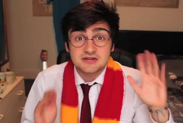 say anything as Harry Potter