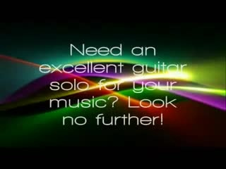 record an excellent guitar solo for your track