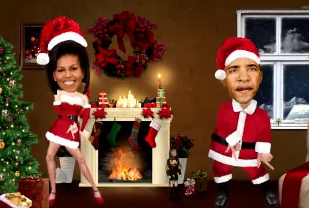 make you, or anyone else dance in a Santa costume