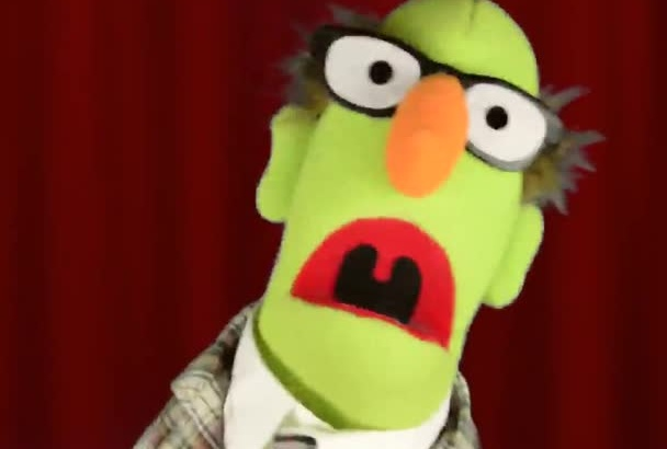 have Harold the Puppet make a video about anything