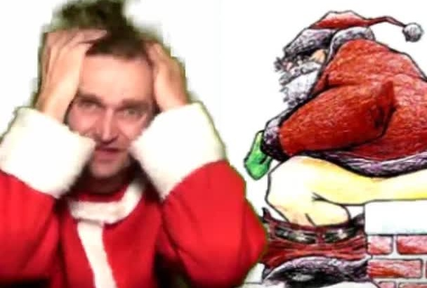 do a Christmas Video greeting they never saw coming