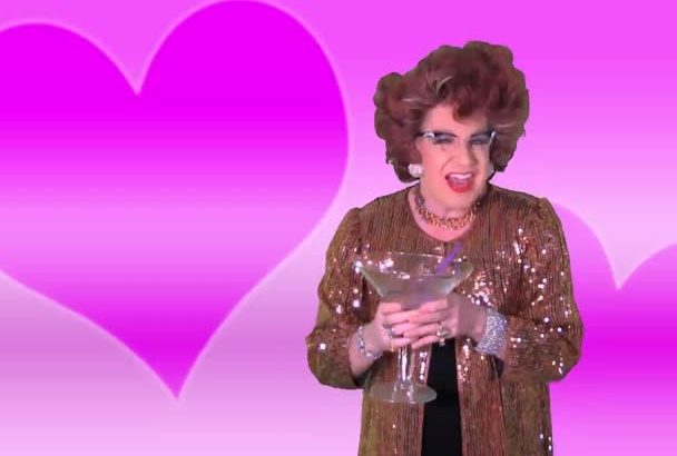 record a hilarious VALENTINES greetings