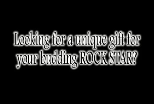 send you 30 guitar picks made out of recycled credit cards and gift cards
