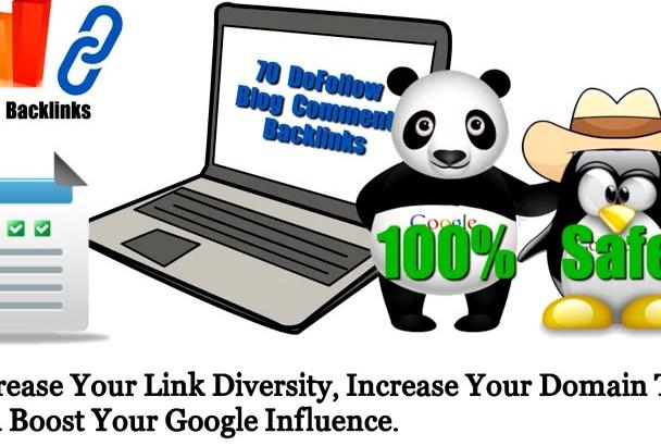 build 120 Dofollow Blog Comment Backlinks Pr7 to 2
