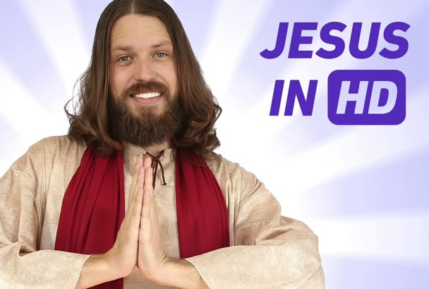 have Jesus himself praise your business via HD Video