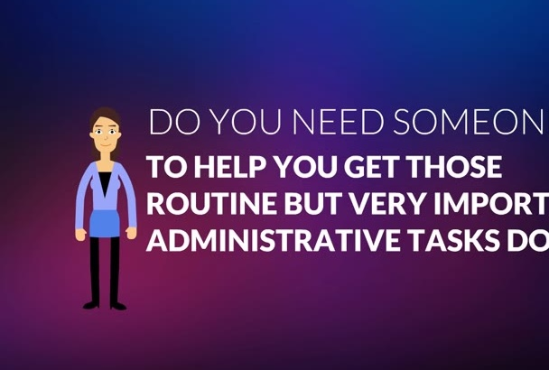 be your Super Virtual Assistant for 1 hour