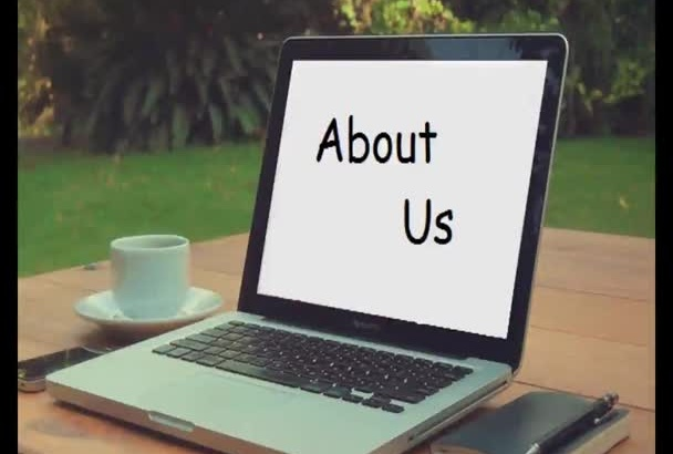 write SEO about us page for any niche