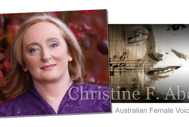 be your Australian female voiceover