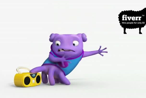 make a funny Boo And Boombox video with your logo