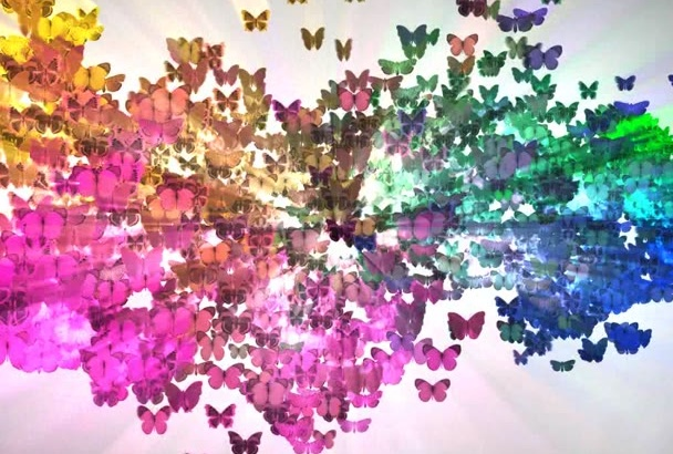 make awesome butterflies vide intro