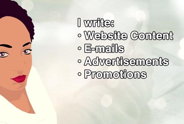 write effective sales copy