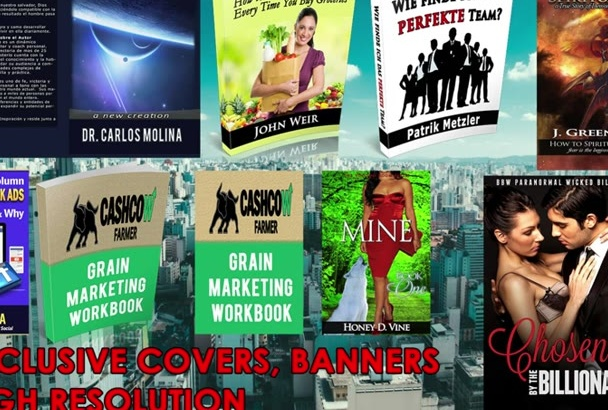 make eBook Cover, eBook Cover Design with Gifts
