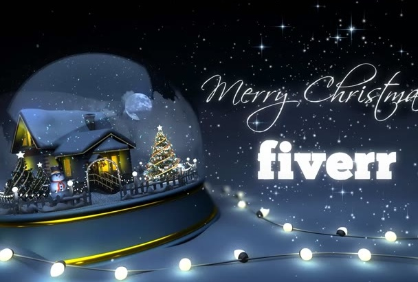 create This Amazing Christmas Video Card For your Business or Family