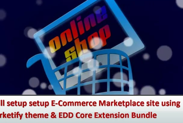 setup ECommerce Marketplace using Marketify theme and EDD