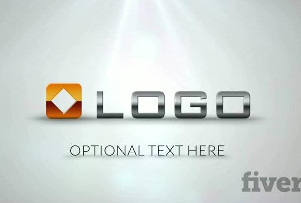animate Funny Logo Text Cartoon Bounce Jumping Video Intro