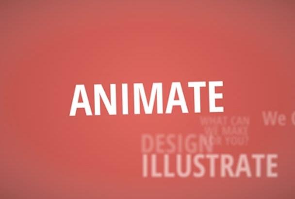make amazing EXPLAINER video animation all types