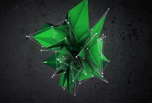 create a Shapeshifter Glitch Video intro
