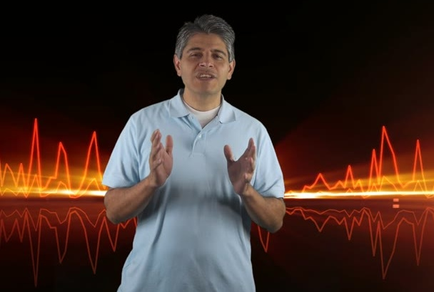 record a powerful Voiceover in English or Spanish