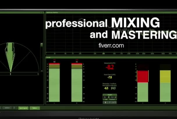 mix and master your music professionally