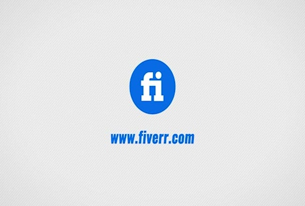 create simple Logo reveal by COLORPIXEL