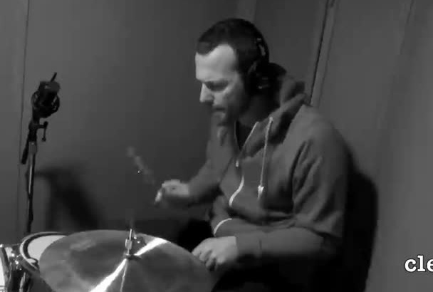 record retro sounding live drums for your song