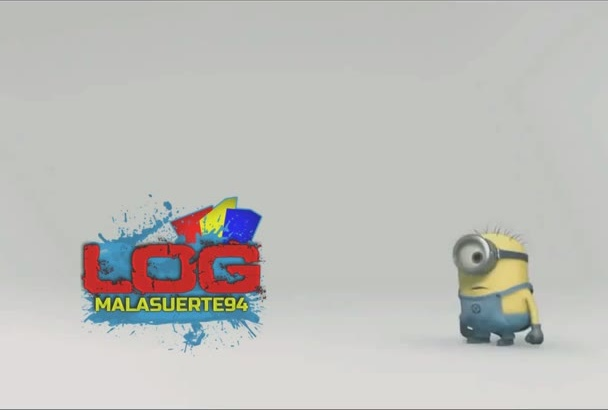 create a funny 3d animation intro with minions