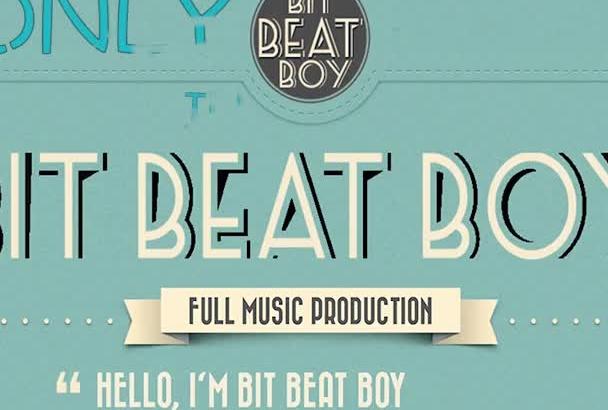create hiphop rap instrumental beat 3 minutes long