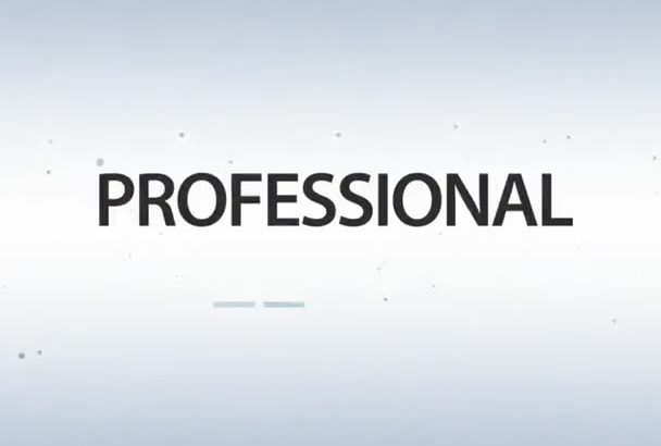produce a royalty free HD professional video