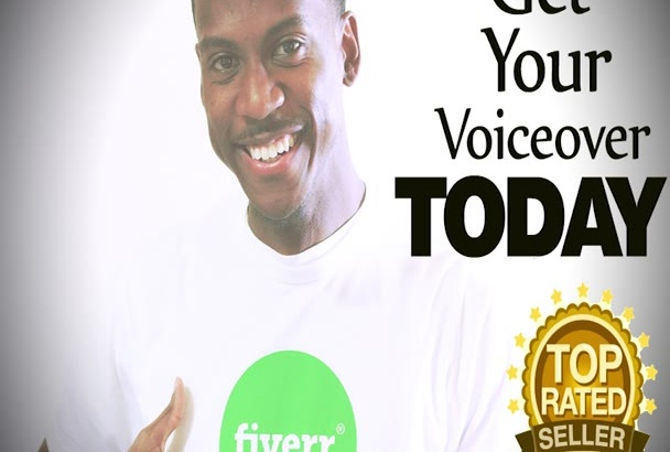 record your male voiceover Today