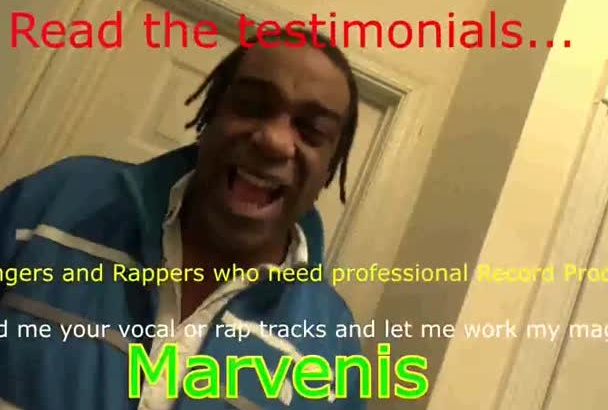 do a music remix behind your vocal or rap tracks
