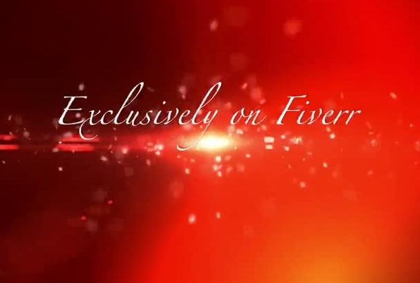 make a romantic Valentine s day Animation Video