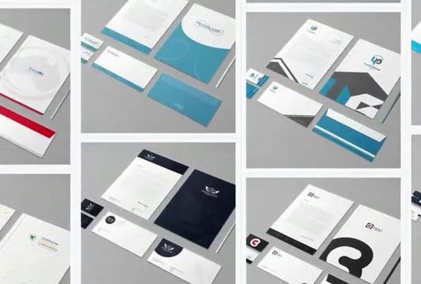 design Full Brand Identity STATIONERY