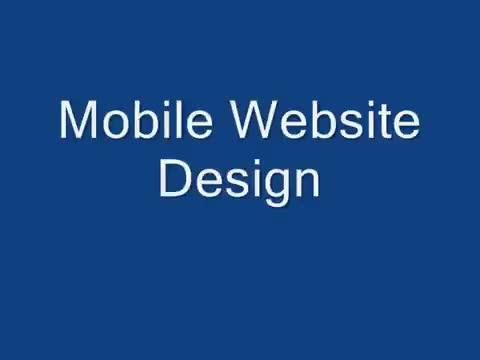 design best MOBILE website with  free installation, qr code, redirect script