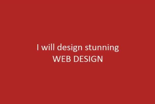 design A Stunning Web Design
