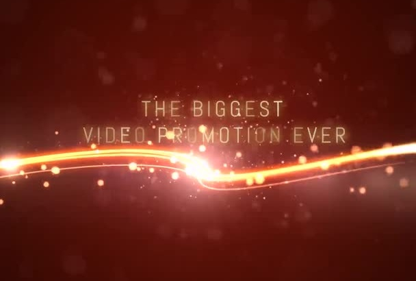 create a Glamorous Video Promotion of your business