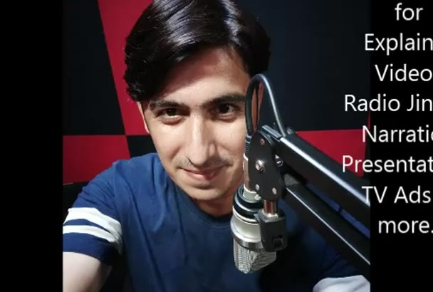 record Perfect  Neutral Indian Accent Voice Over