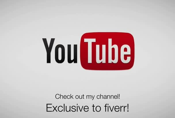 make a YouTube Intro or Outro
